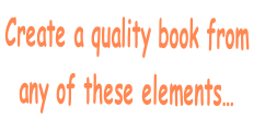 Create a quality book from 